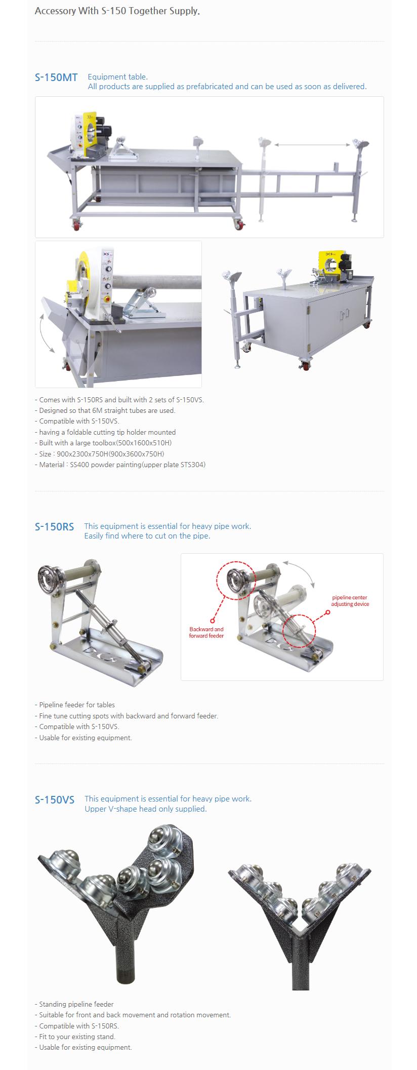 DCS ENG Orbital Cutting Machine S-150 1