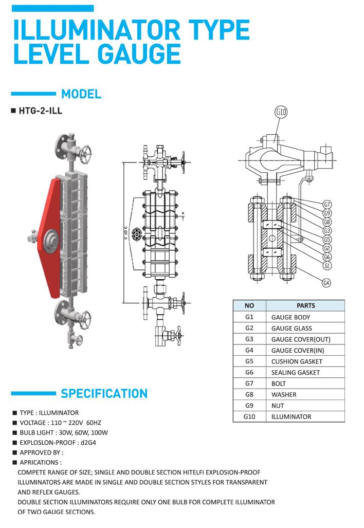 HITELFI Illuminator Type HTG-2-ILL