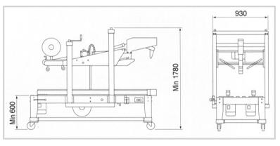 듀팩코리아 자동테이핑기 DP-403 / DP-403R 1