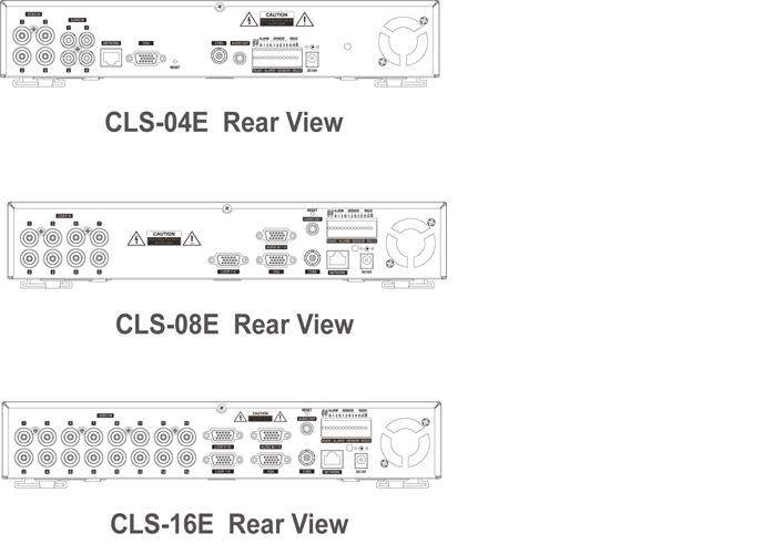 Camlux DVR CLS-04E 2