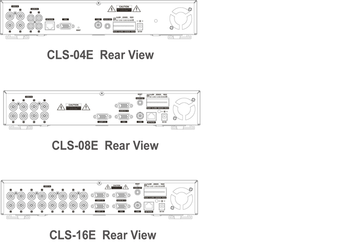 Camlux DVR CLS-08E 2