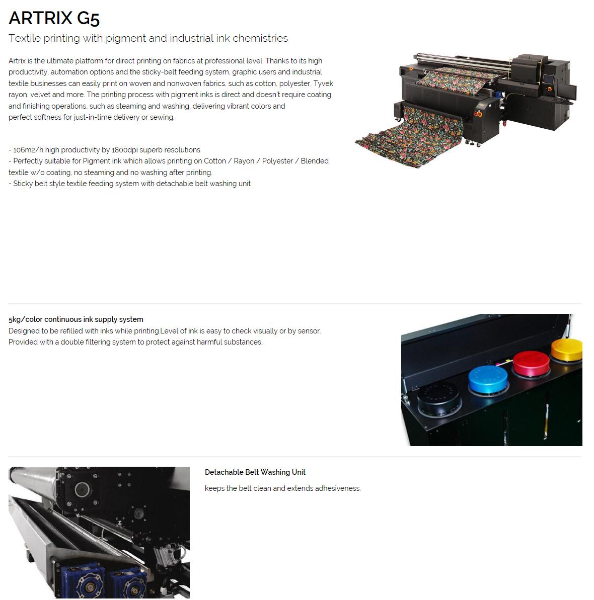 DGEN Printer ARTRIX G5
