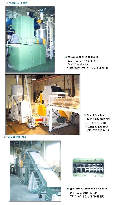 대흥정공 자동화 설비 전경