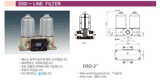 (주)동화기업 Line Filter DSD