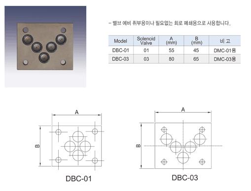 (주)동화기업 블록 커버 DBC