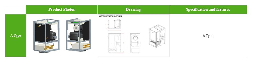 GREEN SYSTEM Cooler Series