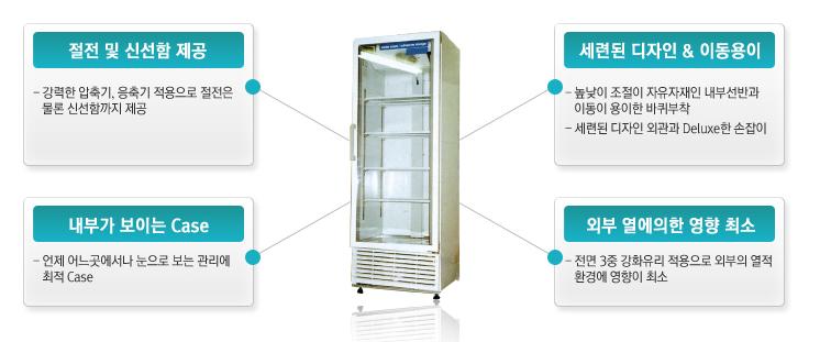 디엔디테크(주) SMT전용냉장고