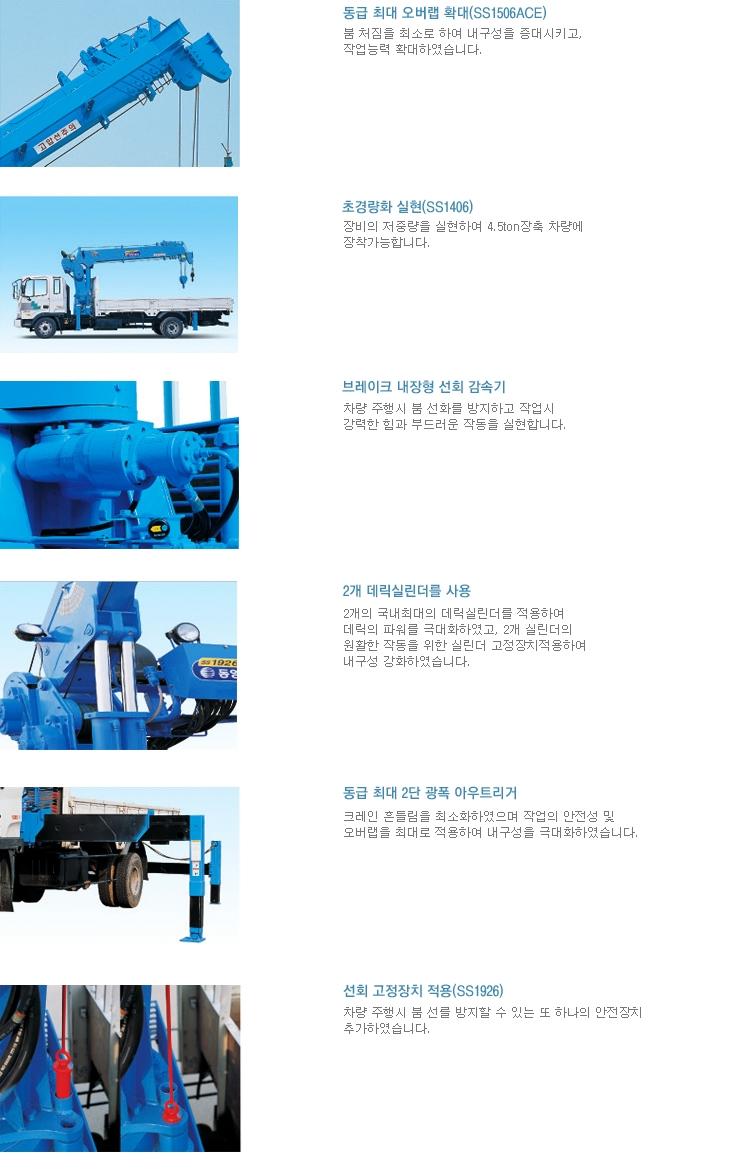 동양기전(주) 중형 스틱 크레인 SS1406 2