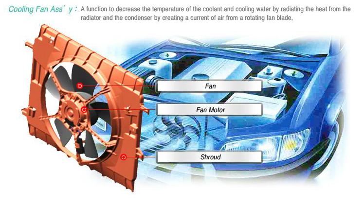 DONG YANG Cooling Fan Motor