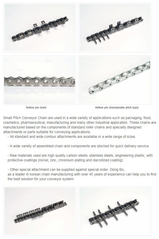 DONGBO CHAIN Small Pitch Conveyor Chain