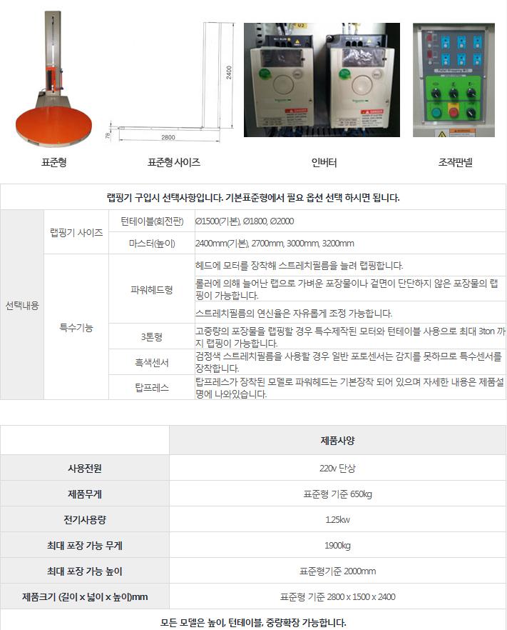 드림포장기계 표준형 DPN-2415