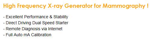 DRGEM HF X-ray Generator for Mammography MXR-35