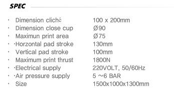 DAEYOUNGTECH Pen Clip Printing Machine GP-BP 85B