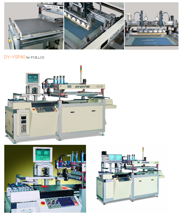 DYSS Full-Auto Screen Printing For PDP,LCD DY-5060-4PSVL