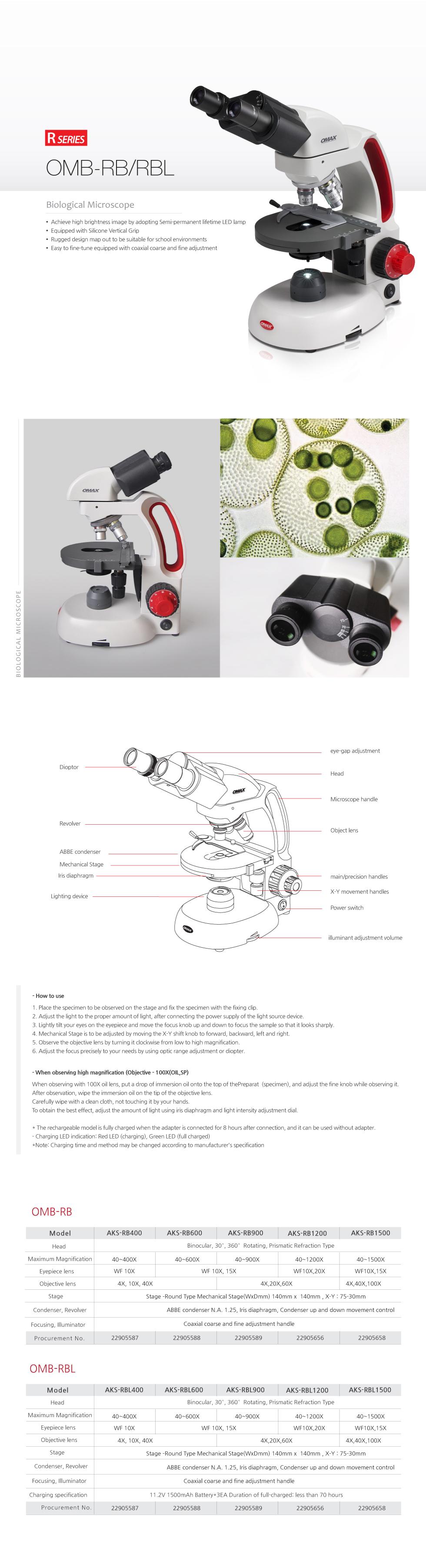 OMAX Biological Microscope  3