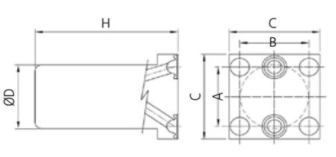 ASFLOW IGS Gas Filter FLT-IGS Series 1