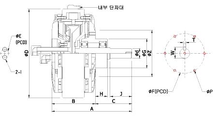 한성전자 수냉 HSB-W Series 1