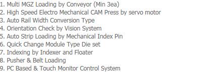 AP-Tech Trim / Form / Singulation System LTFS-2000