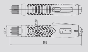 Sehan Electools DC Electric Screwdrivers mini EF Series 1