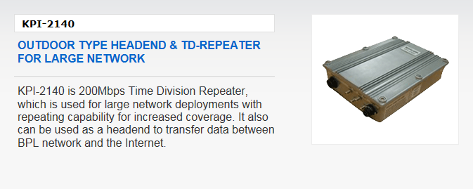 Kaicom Outdoor Type Headend & TD-Repeater KPI-2140