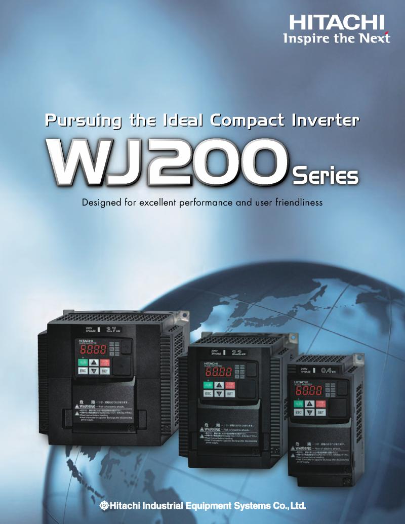 가이오산전(주) 소형 Inverter WJ200 Series