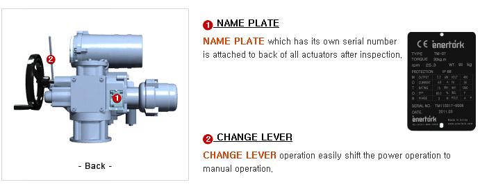 ENERTORK Multi-turn Actuator TM Series 1