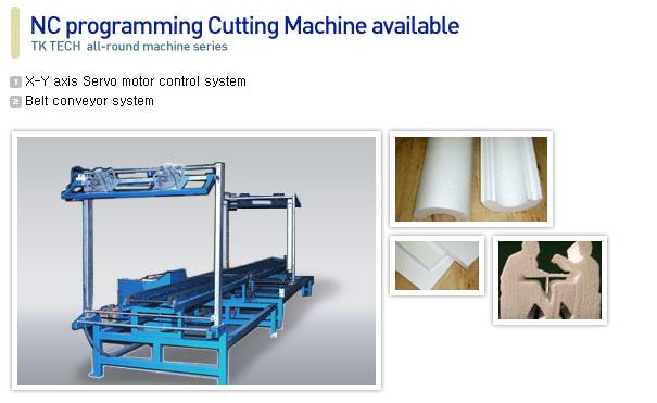 TK TECH EPS Block Cutting Machine TK-312C, TK412C 1