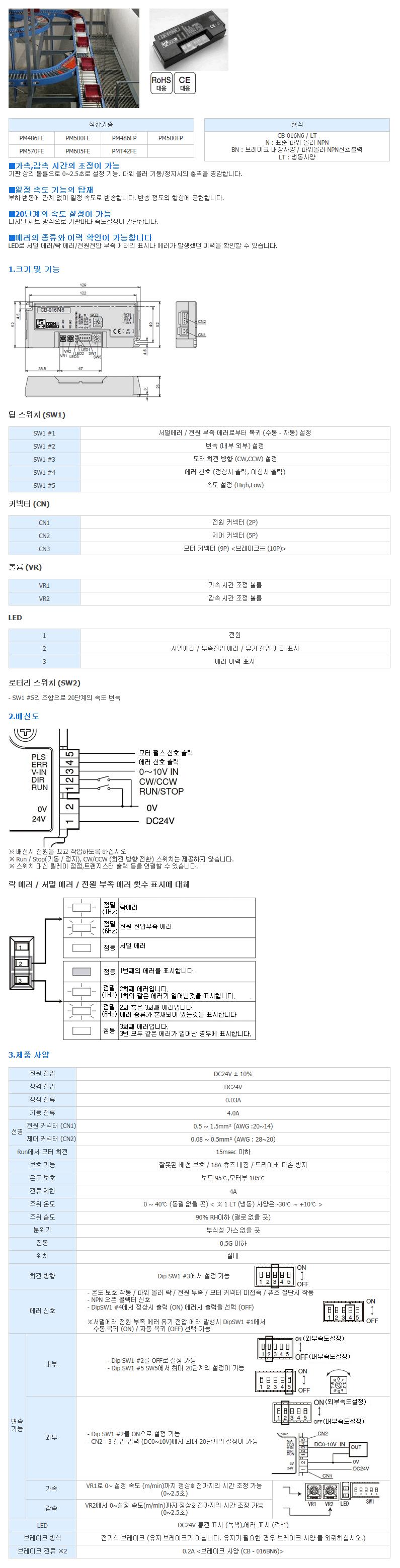 (주)은현산업 MDR전용 스탠더드 드라이버 CB-016