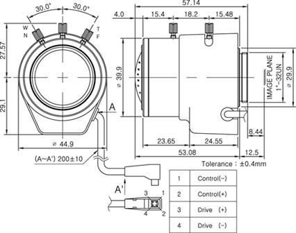 Camlux Lens DW50500D 1