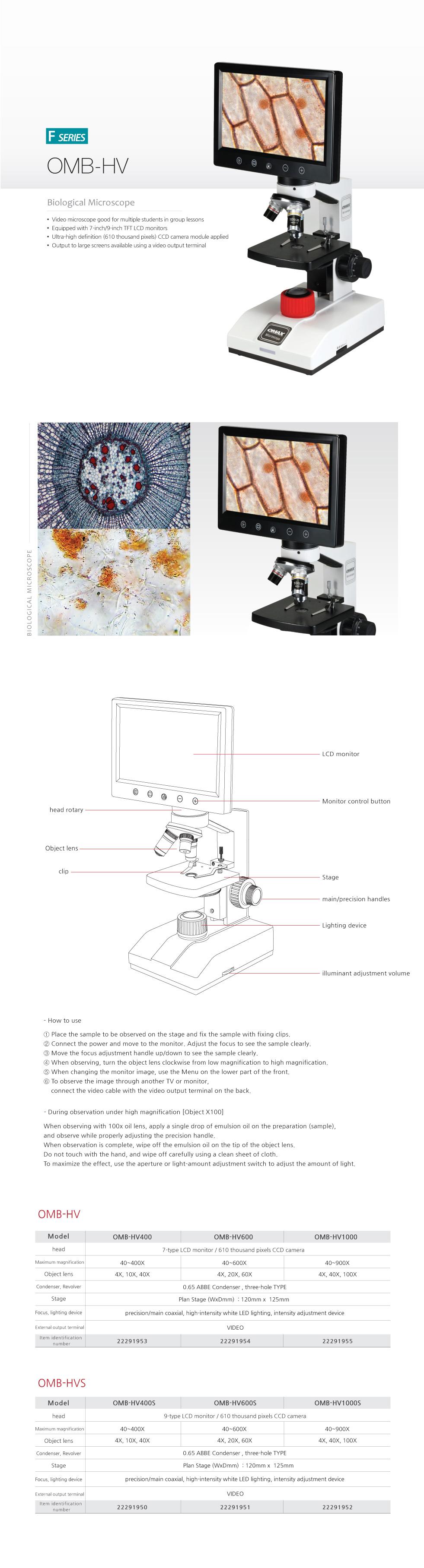 OMAX Biological Microscope  4