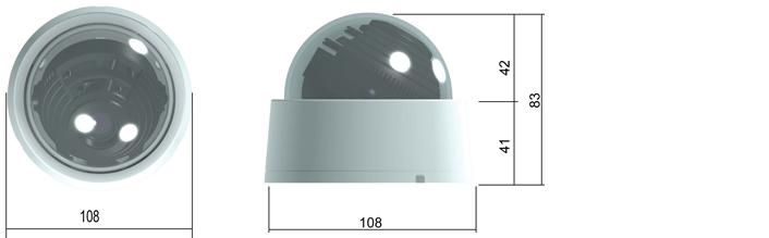 Camlux 700TVL (960H) CD-700V/701V 2