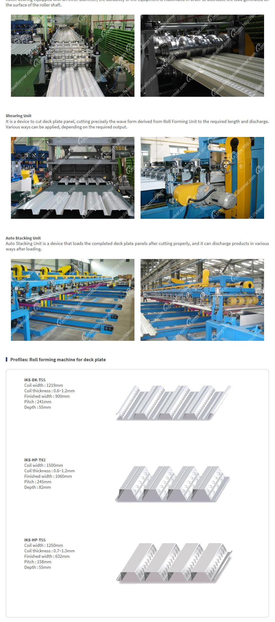 ILKWANG Metal Forming Deck plating sheet  1