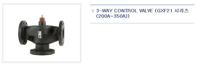 GINICE 3-Way Control Valve GXS21-Series 1