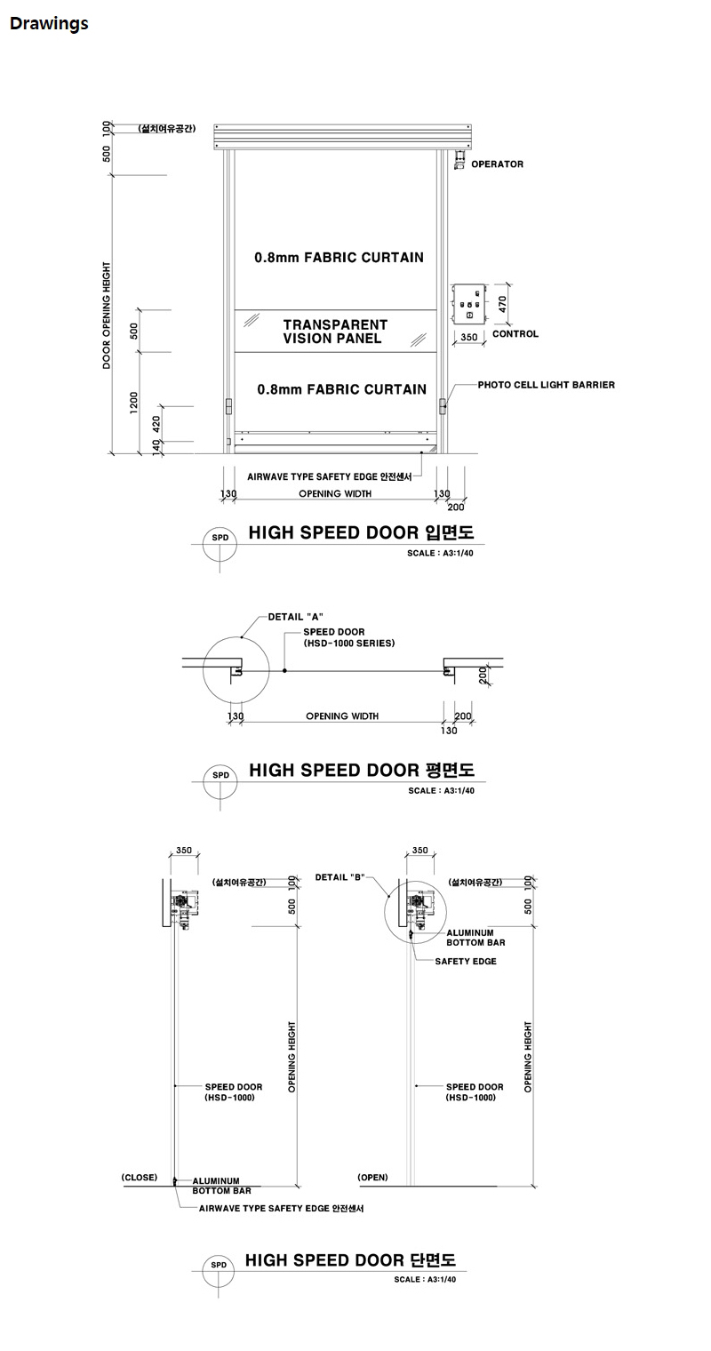 HANA DOOR High Speed Door HSD-1000 2