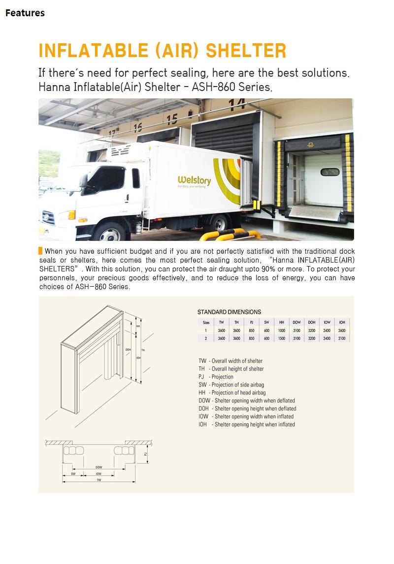 HANA DOOR Air Shelter LDS-660