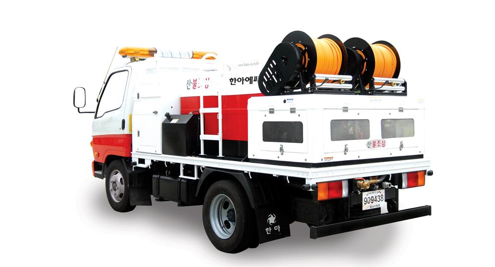 HANA SS Vehicle All-In-One Model, 1000L, 2000L HAV-Series 1