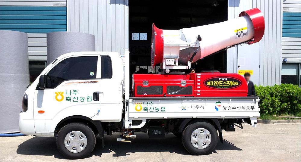 한아에스에스(주) 차량탑재형, 1000L HA-1000EWS 3