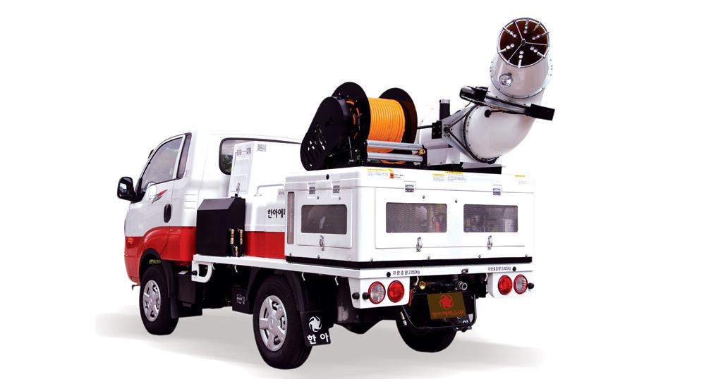 HANA SS Vehicle All-In-One Model, 1000L, 2000L HAB-Series 1