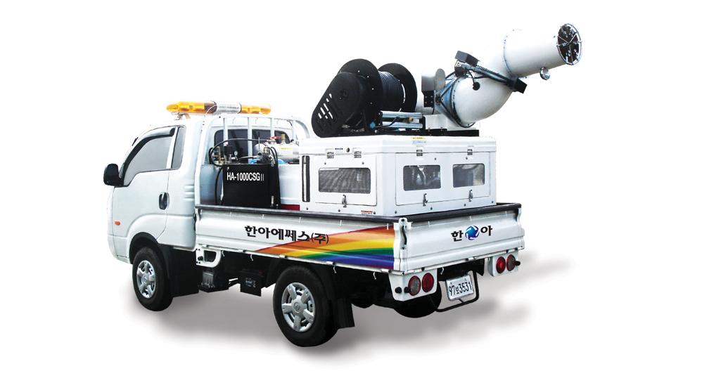 HANA SS Loaded-In-Vehicle Model, 1000L HA-1000CSGⅡ 1