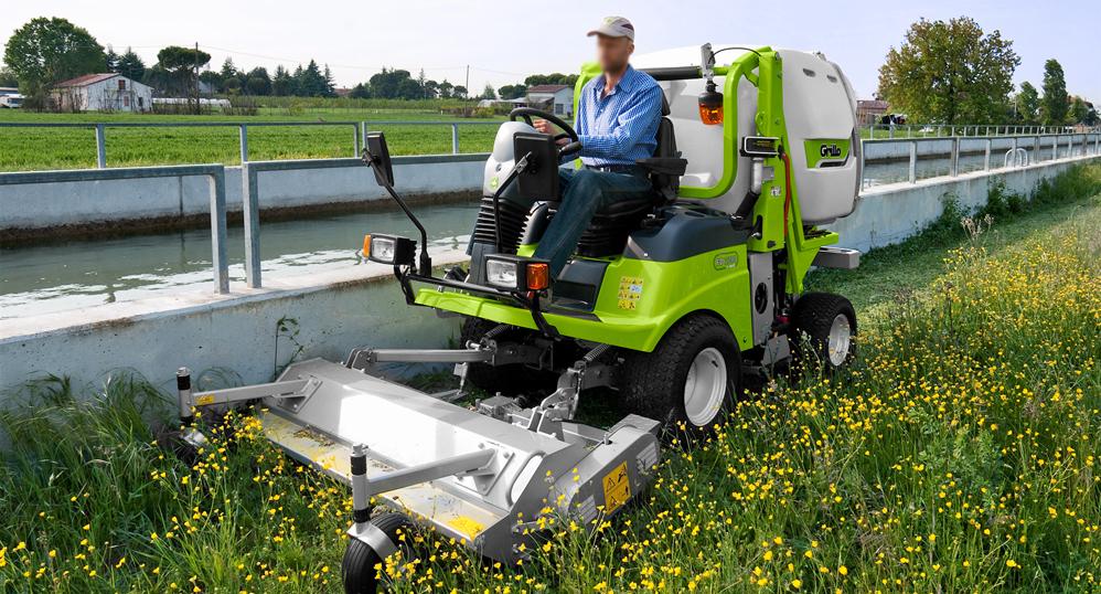 HANA SS Riding mower. 1510mm HA-PM160, HA-PM160C 1