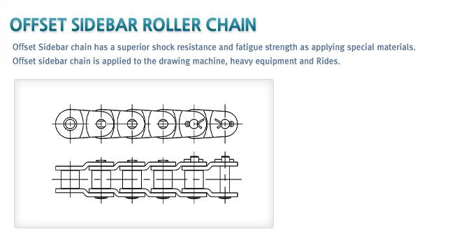 HANKUK CHAIN Offset sidebar roller chain