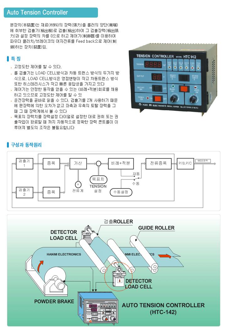 (주)한미전자제어 Auto Tension Controller  1