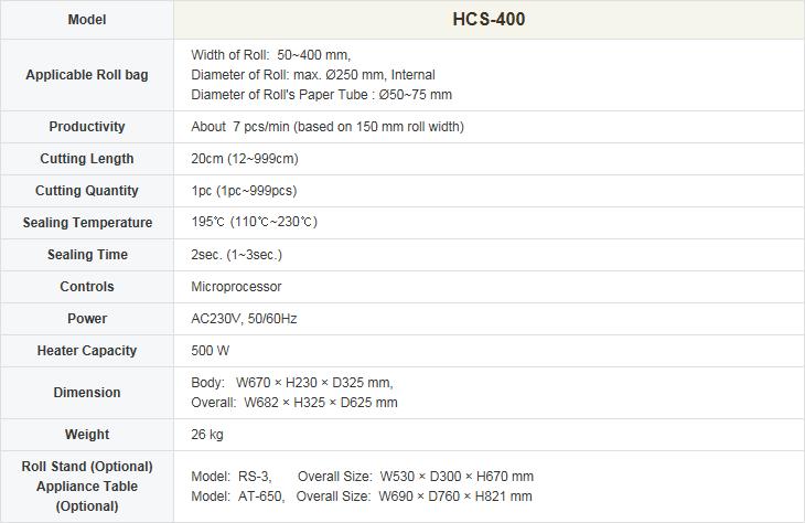 HANSHIN MEDICAL  HCS-400 1