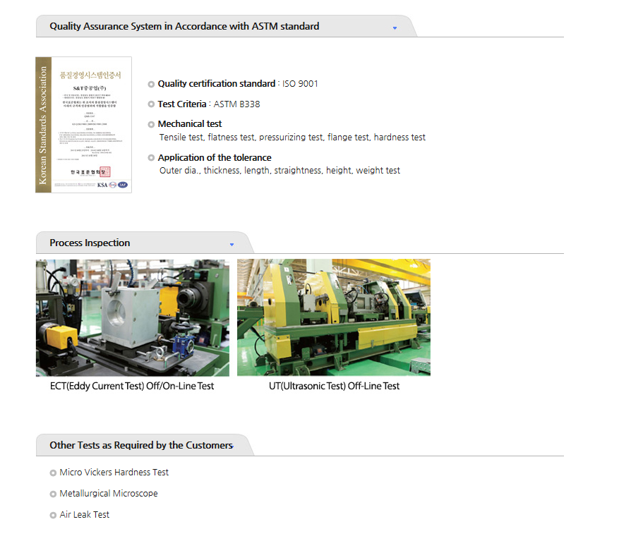 S&T Dynamics Quality Assurance