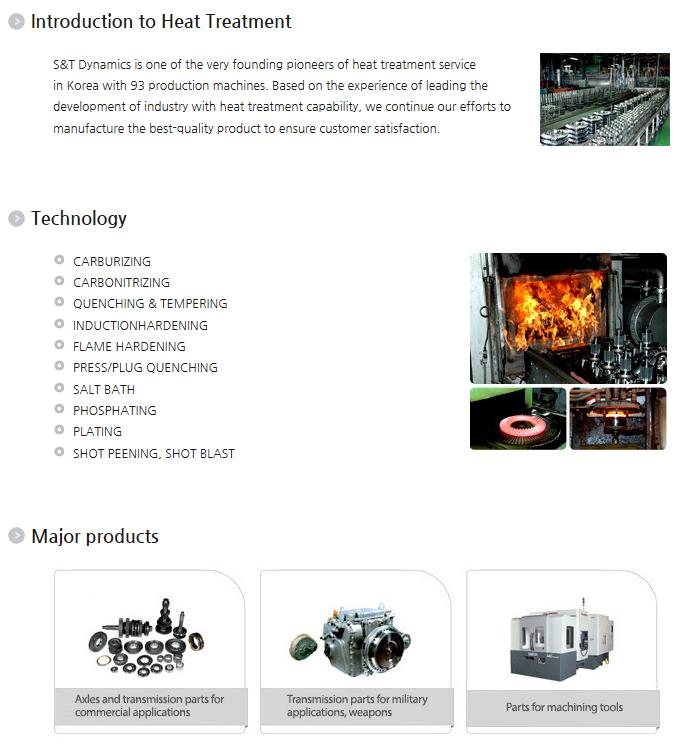 S&T Dynamics Heat Treatment