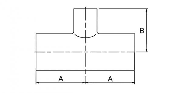 (주)하이스텐 Reducing Tee 1.5x1S~4x3S 1