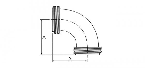 (주)하이스텐 Elbow (Male) 1S~4S 1