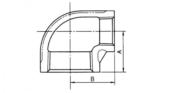 (주)하이스텐 이경 엘보 15x10A~50x40A 1
