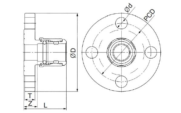 (주)하이스텐 10K 플랜지 13SUx15~60SUx65 1