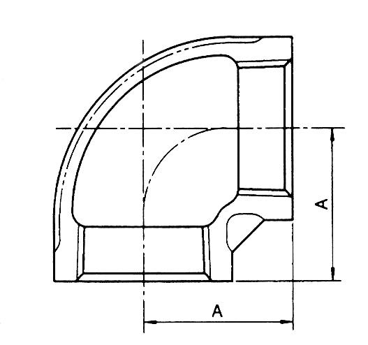 (주)하이스텐 엘보 6A~100A 1